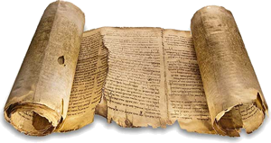 The Isaiah Scroll from Qumran.