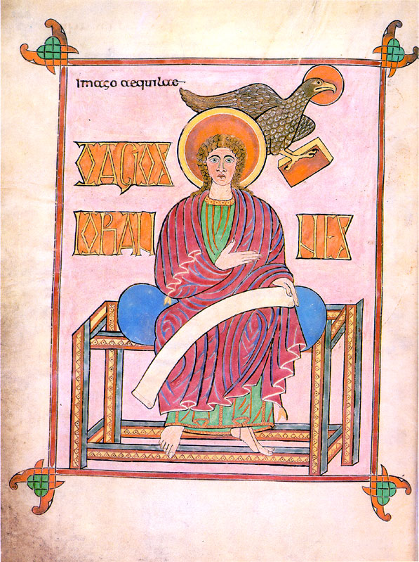 Lindisfarne: Gospel according to St John - Title Page.